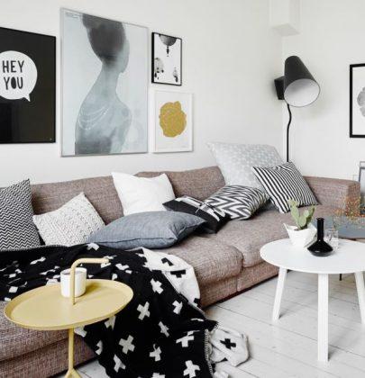 Binnenkijken | Appartement vol woontrends 2014