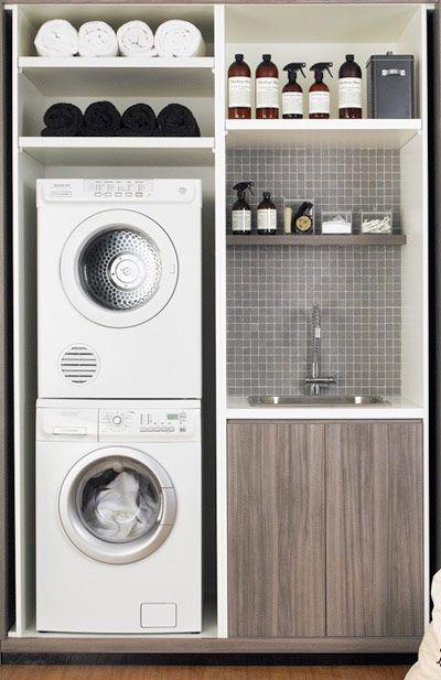 Interieur  Inspiratie voor inrichten van de wasruimte • Stijlvol Styling  W # Aparte Wasbak_124715