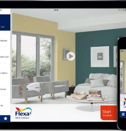 Kleur & Interieur | De Flexa Visualizer app – live kleuradvies op jouw tablet of telefoon.