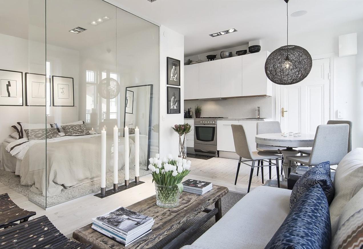 Interieur 10 tips voor het inrichten van een klein huis of appartement stijlvol styling - Decoratie klein appartement ...