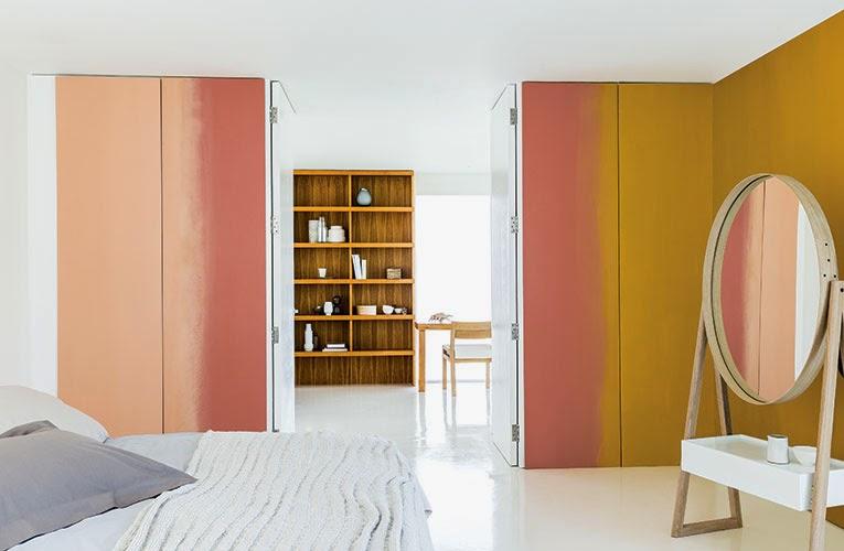 Kleur interieur woontrend 2015 copper orange kleur van het jaar stijlvol styling - Kleur trend salon ...