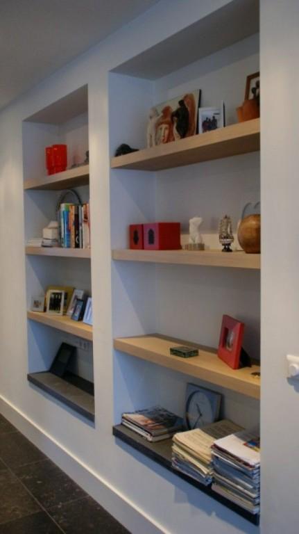 Interieur nis in de muur stijlvol styling woonblog for Interieur verfkleuren