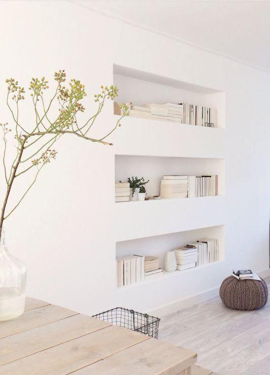 Interieur nis in de muur stijlvol styling woonblog - Interieur muur ...