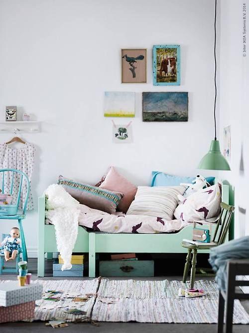 Interieur kids mintgroen babykamer kinderkamer inspiratie deel 2 stijlvol styling - Jongen babykamer ...