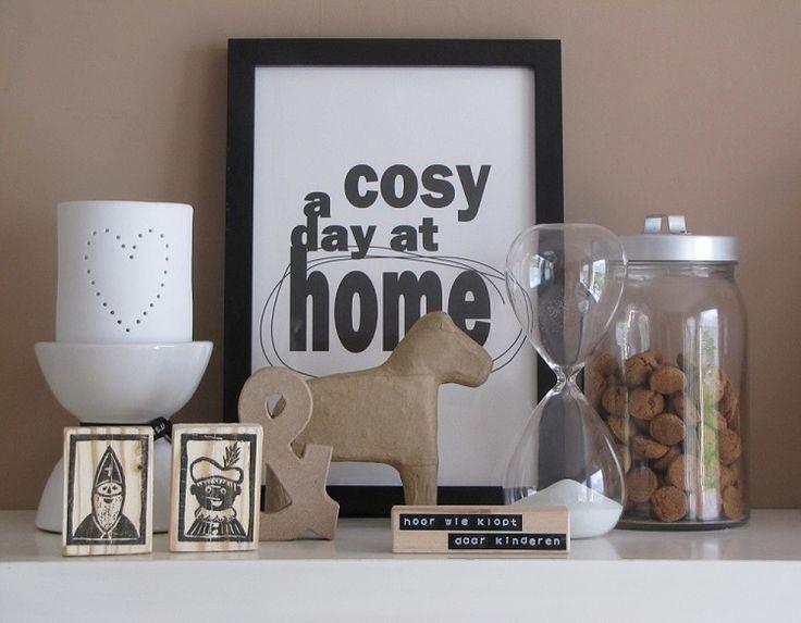 Feestdagen stijlvolle sinterklaasfeest decoratie idee n stijlvol styling woonblog - Home decoratie ideeen ...