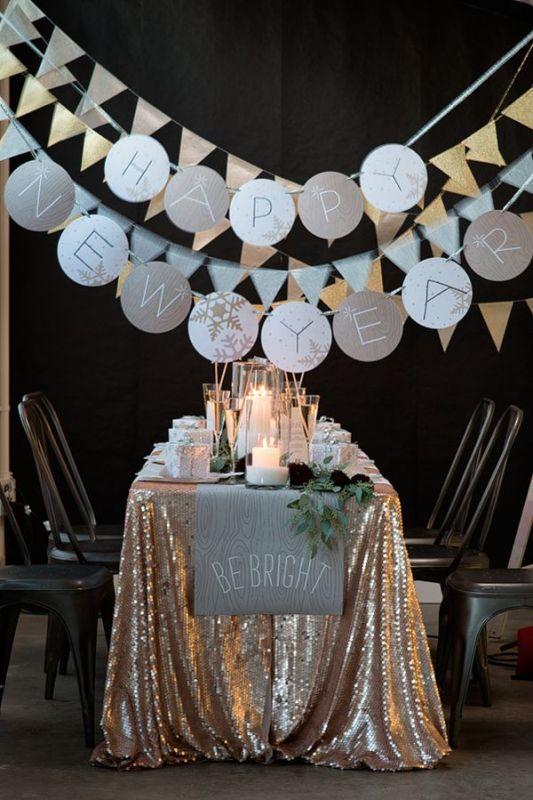 Feest styling oud en nieuw feest versiering tips stijlvol styling woonblog - Decoratie slaapkamer jongen jaar oud ...