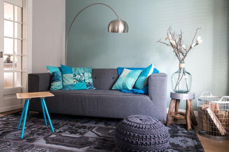 Interieur | Een blauw interieur - fris, modern of toch chique ...