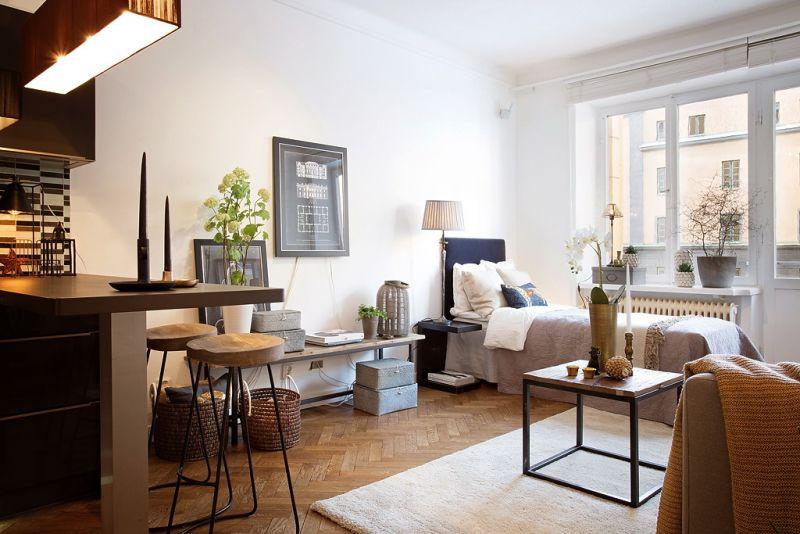 Binnenkijken chique en trendy wonen op 34m2 stijlvol for Inrichting kleine woning