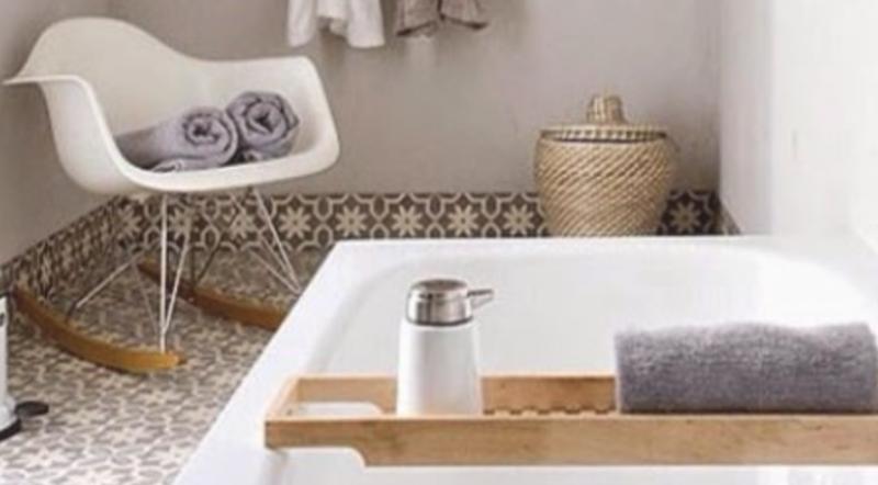 Binnenkijken wonen in het groen stijlvol styling woonblog - Interieur badkamer ...