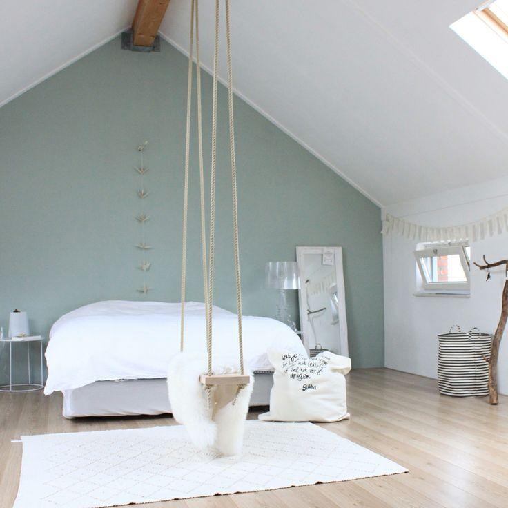 Interieur slaapkamer op zolder stijlvol styling woonblog - Decoratie zolder ...