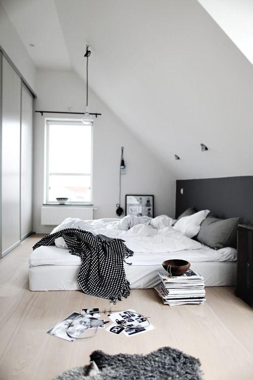 interieur  slaapkamer op zolder  stijlvol styling  woonblog, Meubels Ideeën