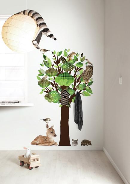 Interieur u0026 kids : De leukste muurstickers voor babykamer - #woonblog ...