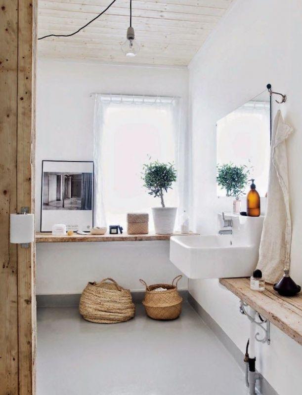 Interieur natuurlijke badkamer inspiratie stijlvol for Interieur badkamer