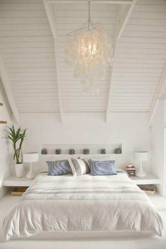 Interieur slaapkamer op zolder stijlvol styling woonblog - Personeel inrichting slaapkamer ...