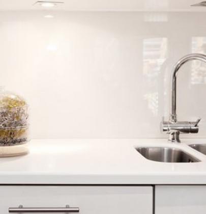 Interieur | Keukenglas geeft je keuken een luxe uitstraling