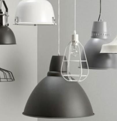 Interieur   Betaalbare industriële lampen
