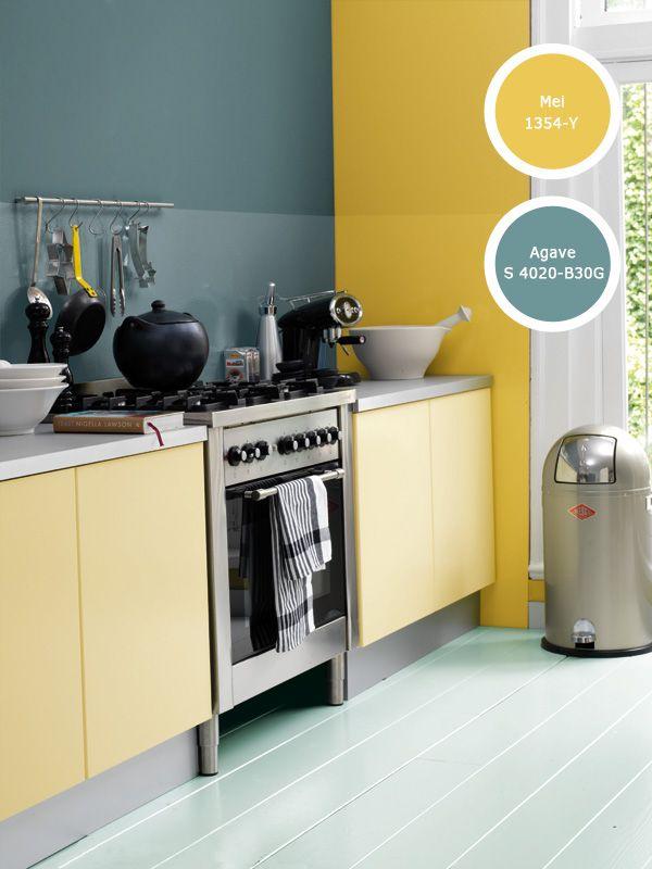 Kleur interieur geel brengt het zonnetje in huis stijlvol styling woonblog - Kleur warm ...