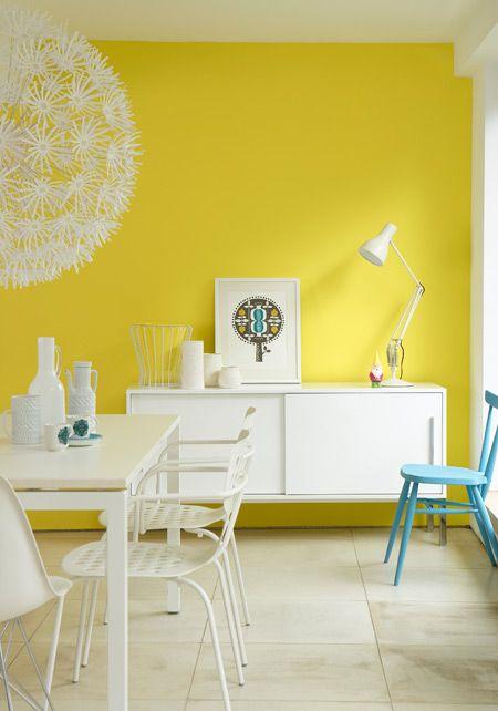 Kleur interieur geel brengt het zonnetje in huis for Couleur peinture interieur maison