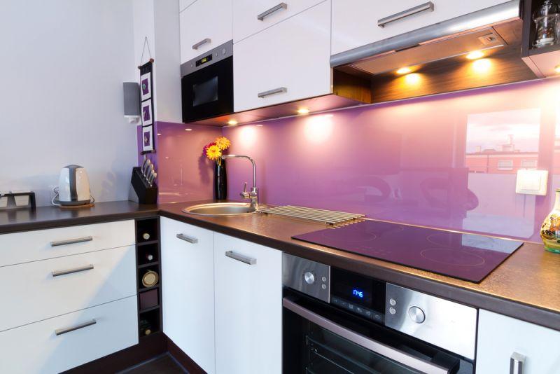 Inspiratie Keuken Achterwand : Interieur Keukenglas geeft je keuken een luxe uitstraling – Stijlvol