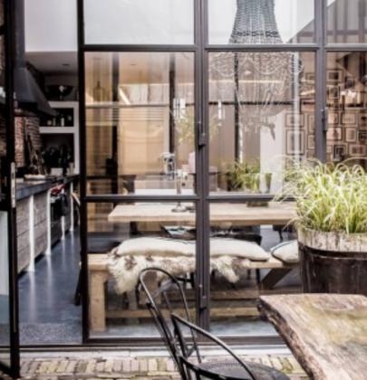 Interieur | Deuren & ramen met stalen kozijn
