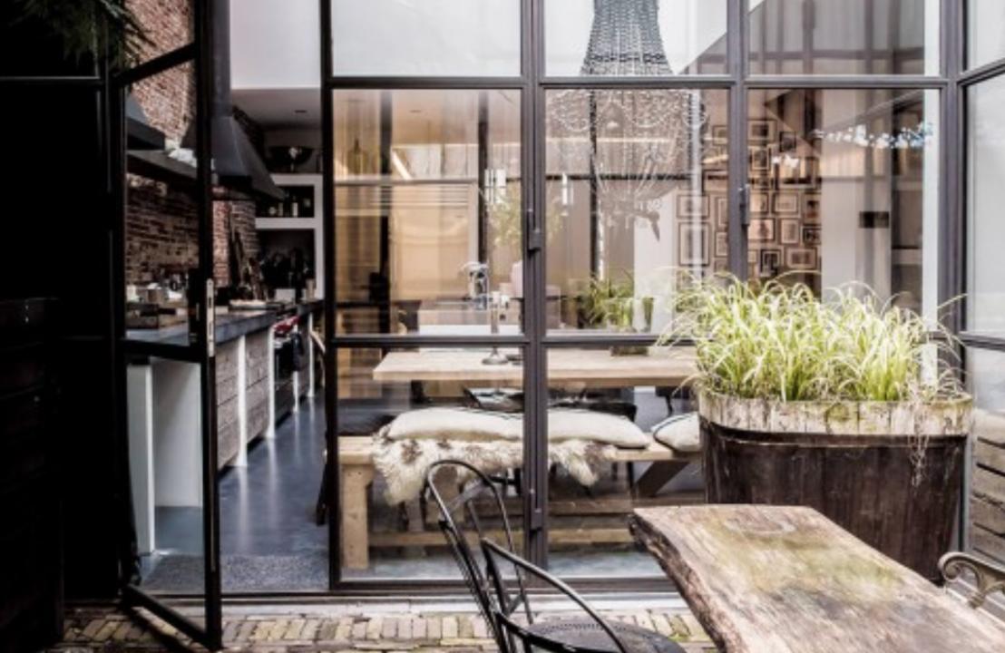 Interieur deuren ramen met stalen kozijn stijlvol for Decoratie industrieel