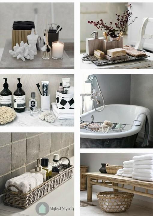 Woontrends de badkamertrends 2015 stijlvol styling woonblog - Een wc decoreren ...