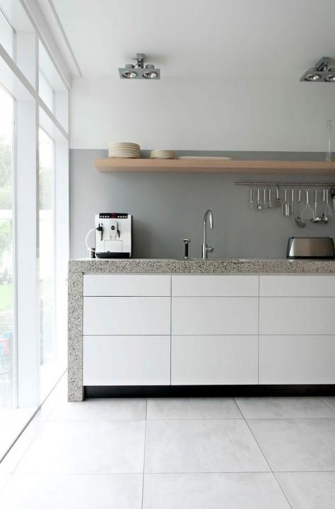 Interieur trends lambrisering van verf stijlvol styling woonblog - Trend schilderen keuken ...