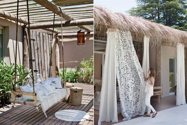 Binnenkijken bohemian chique wonen in argentini stijlvol styling woonblog - Decoratie jardin terras ...