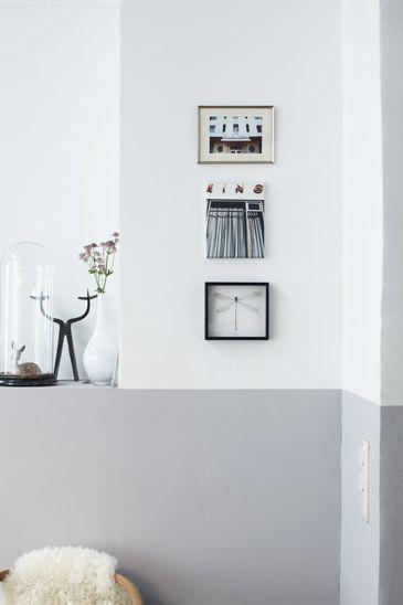 Interieur trends lambrisering van verf stijlvol styling for Interieur schilderen