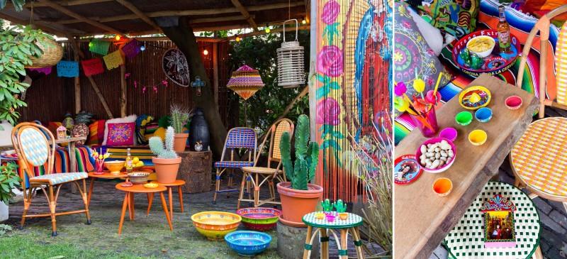 Feest styling tuinfeest decoratie trends 1 mexicaanse for Decoratie feest