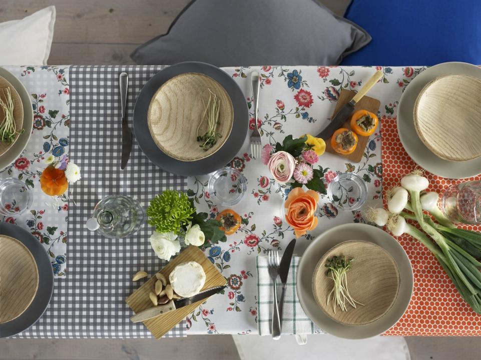 Interieur inspiratie dek een feestelijke tafel met ikea stijlvol styling woonblog - Feestelijke tafels ...