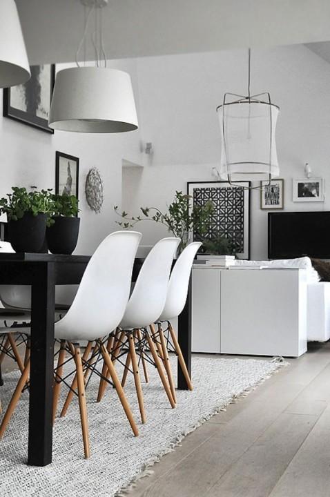 Interieur inspiratie  15x stijlvolle zwart wit woonkamer. - Stijlvol ...