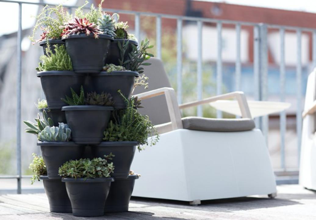 Buitenleven inspiratie klein balkon inrichten stijlvol