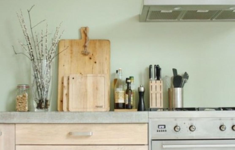 Interieur inspiratie mintgroen in de keuken stijlvol for Interieur inspiratie
