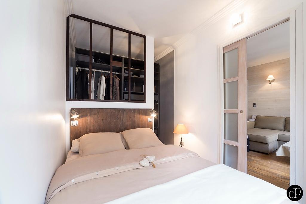 binnenkijken klein wonen op 25m2 in parijs stijlvol styling woonblog. Black Bedroom Furniture Sets. Home Design Ideas