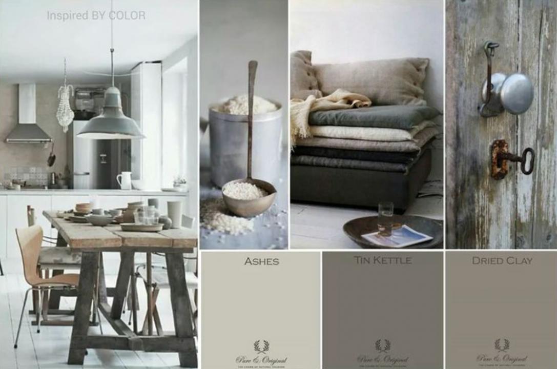 Kleur interieur haal de natuur naar binnen met kalkverf for Interieur verfkleuren
