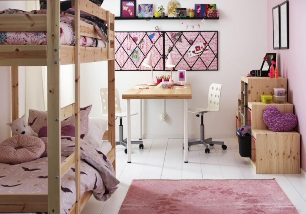Kinderkamer roze groen de tofste kinderkamers van famme - Roze kinderkamer ...