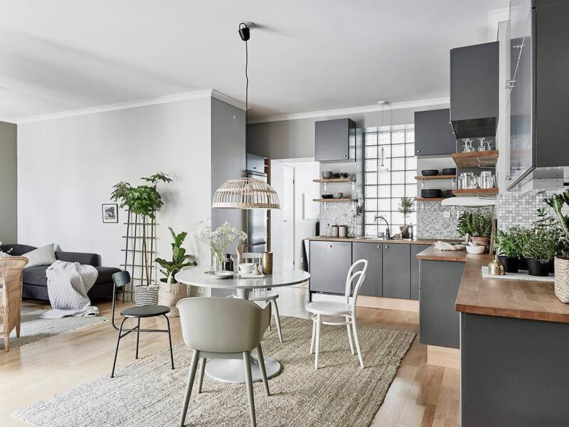 Binnenkijken sfeervol interieur in grijs groen en wit stijlvol styling woonblog - Interieur van amerikaans huis ...