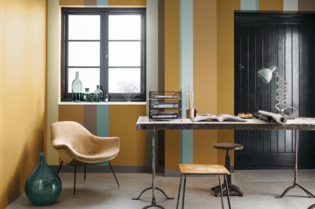 Woontrends 2016 okergoud kleur van het jaar 2016 for Kleur interieur