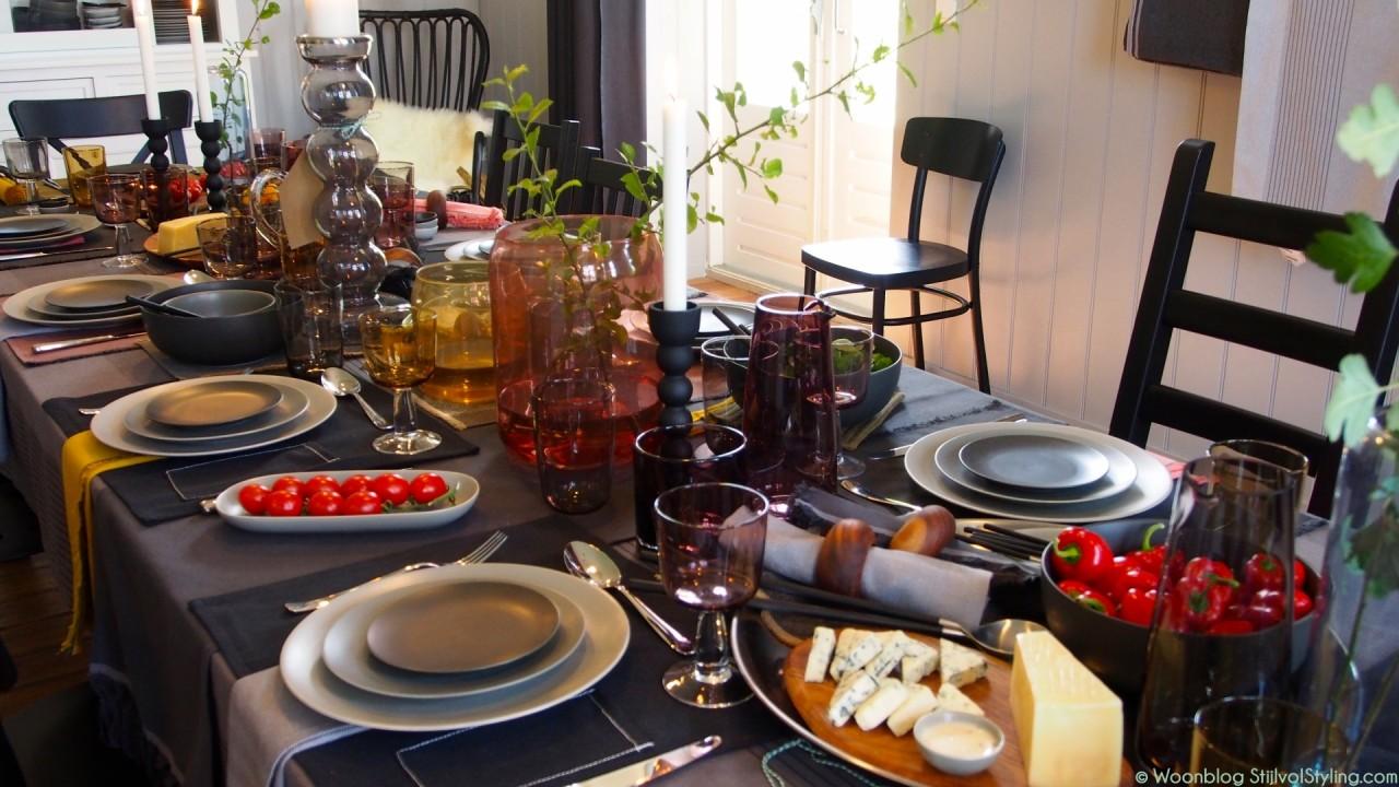 Interieur feestelijk diner met de ikea sittning for Interieur ikea