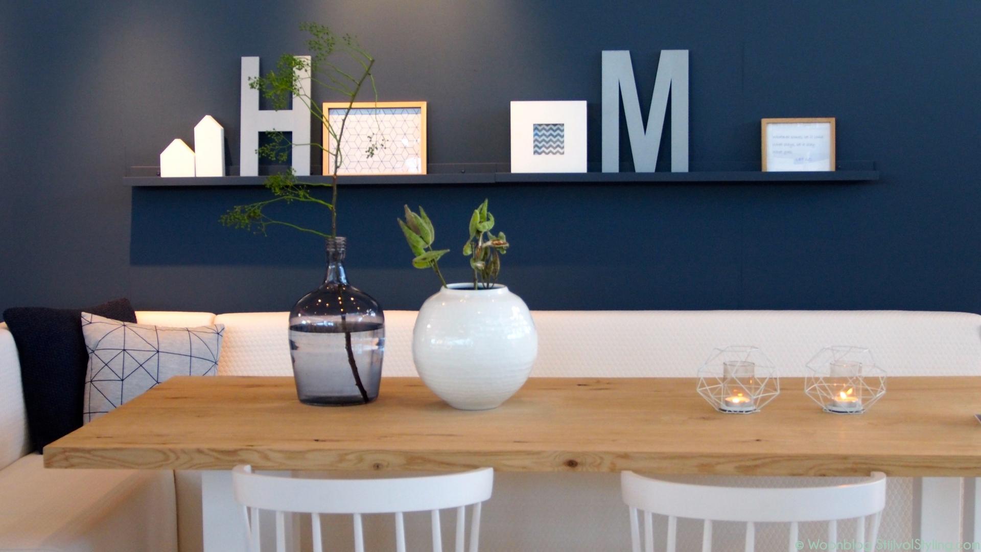 Woontrends 2016 interieur kleur inspiratie met blauw stijlvol styling woonblog - Kleur trend salon ...