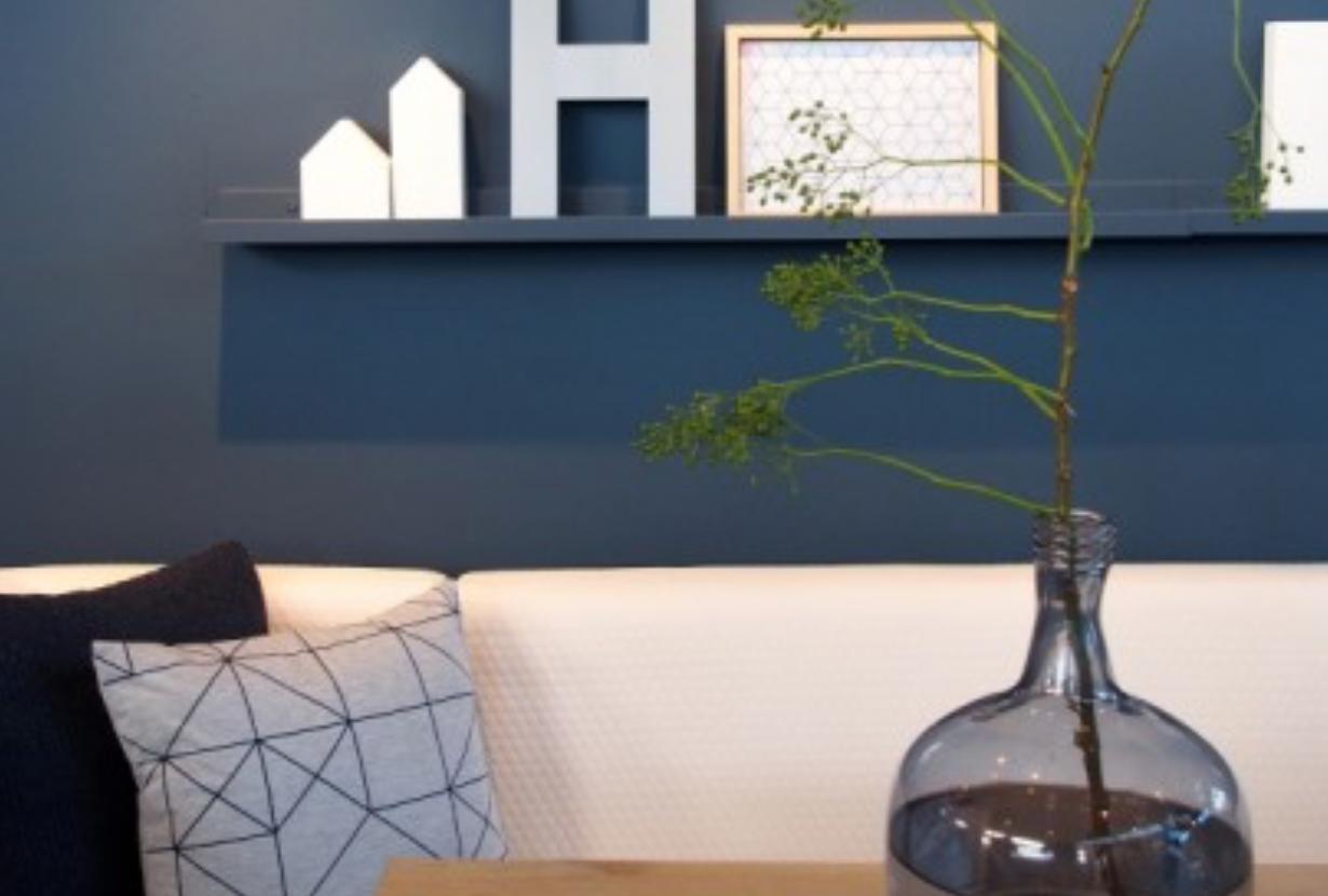 Slaapkamer Grijs Blauw : ... & kleur inspiratie met blauw • Stijlvol ...