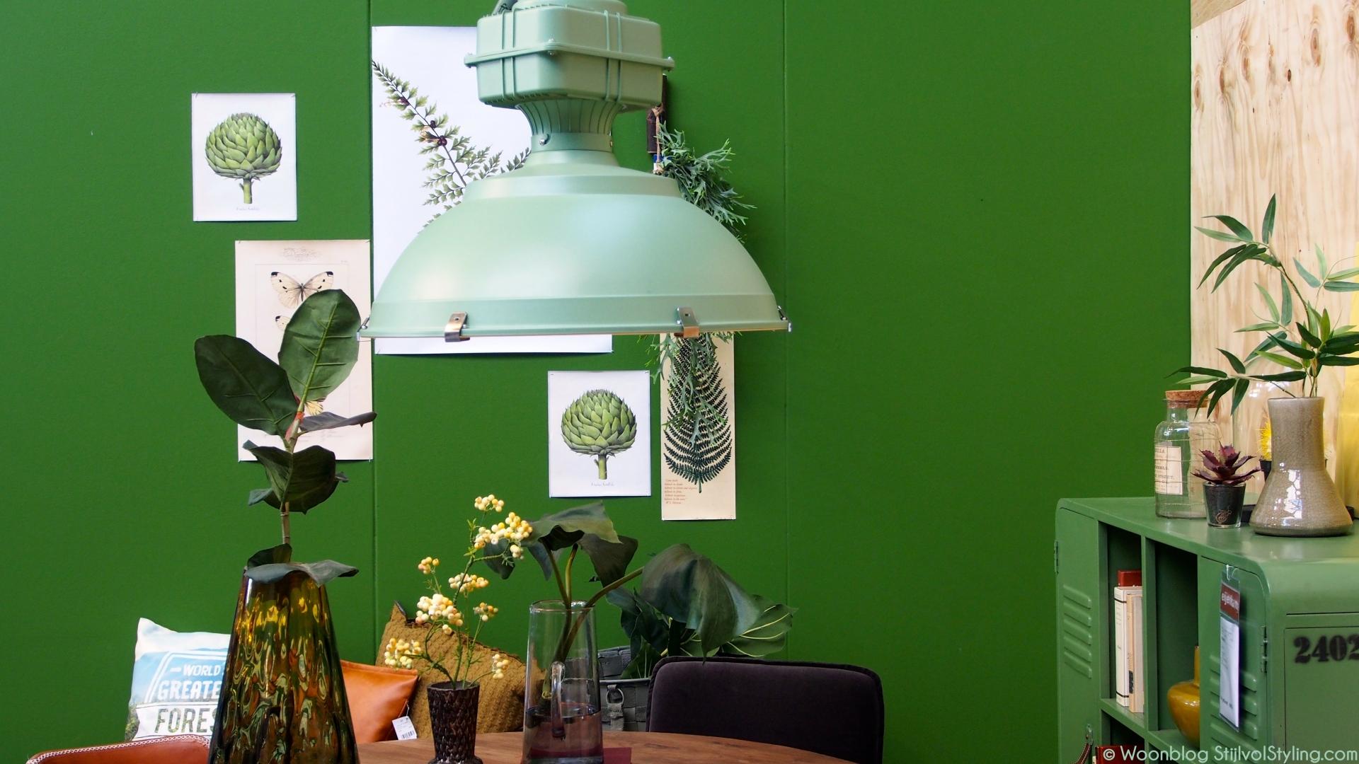 Kleur interieur de kleur groen in jouw interieur for Interieur kleur