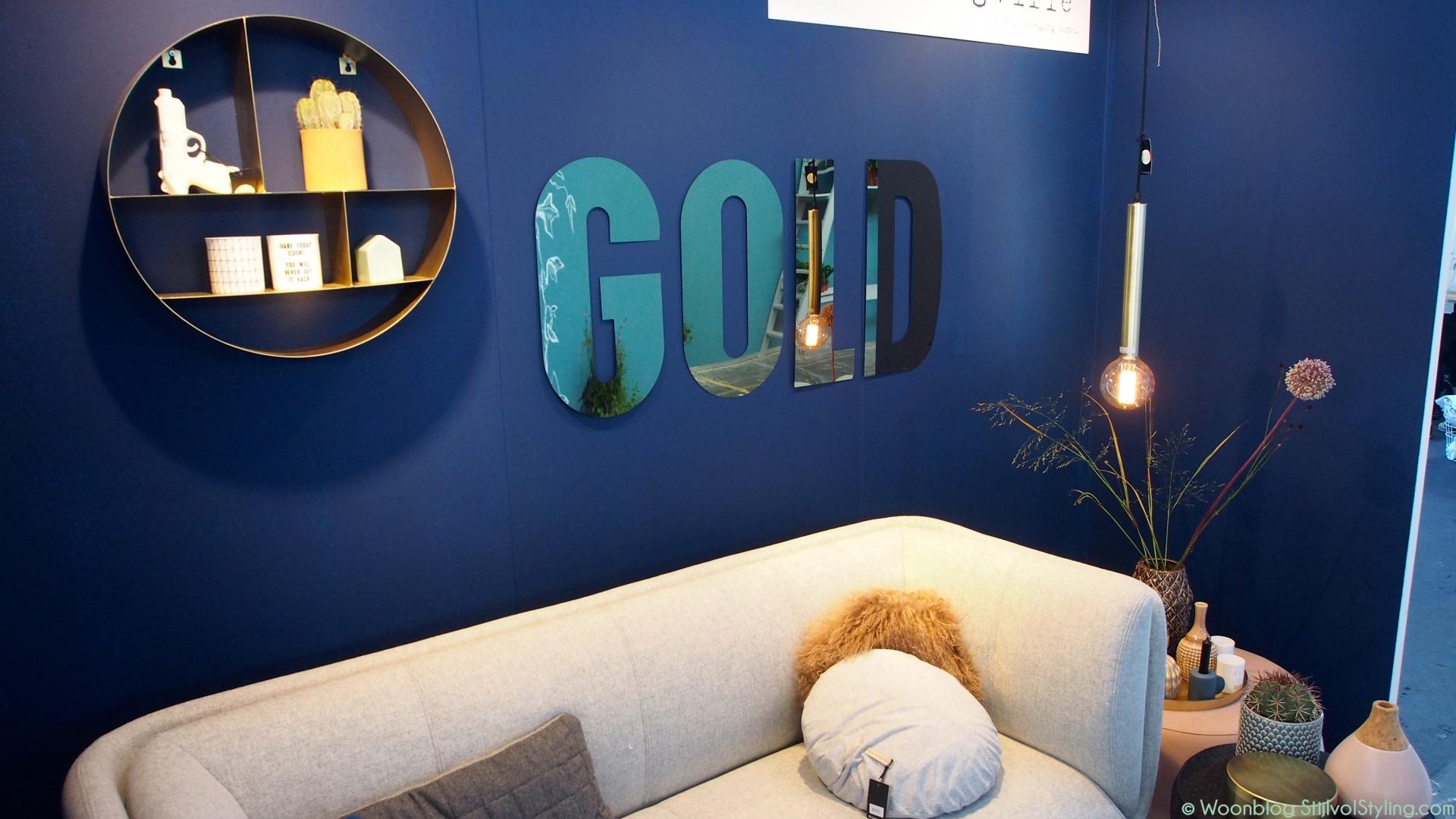 Interieur een blauw interieur fris modern of toch chique stijlvol styling woonblog - Kleine ijdelheid eenheid ...
