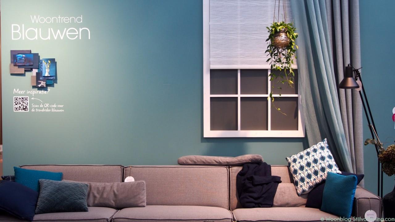 Woontrends 2016 interieur kleur inspiratie met blauw stijlvol styling woonblog - Kleur blauwe verf ...