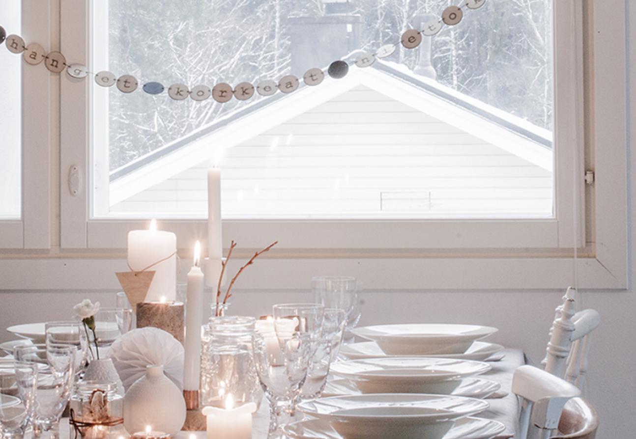 Feestdagen | De kersttafel aankleden - Woonblog StijlvolStyling.com