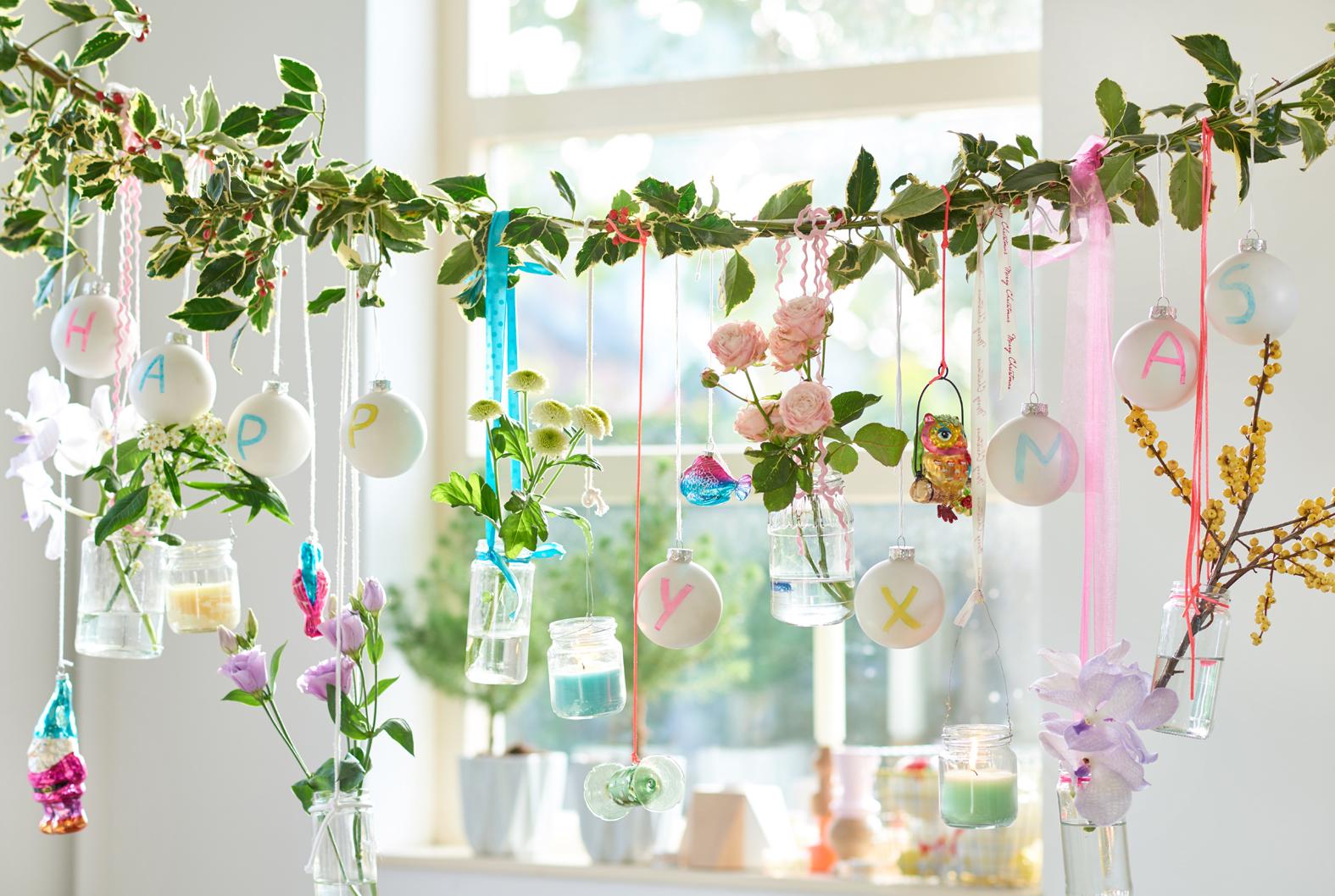 groen wonen kerst decoratie planten bloemen trends. Black Bedroom Furniture Sets. Home Design Ideas