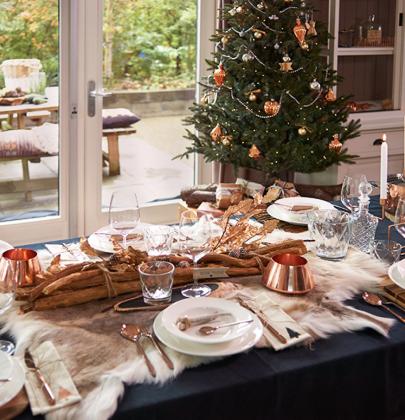 Feestdagen | Kersttrends 2015 – Kerst in koper & wit