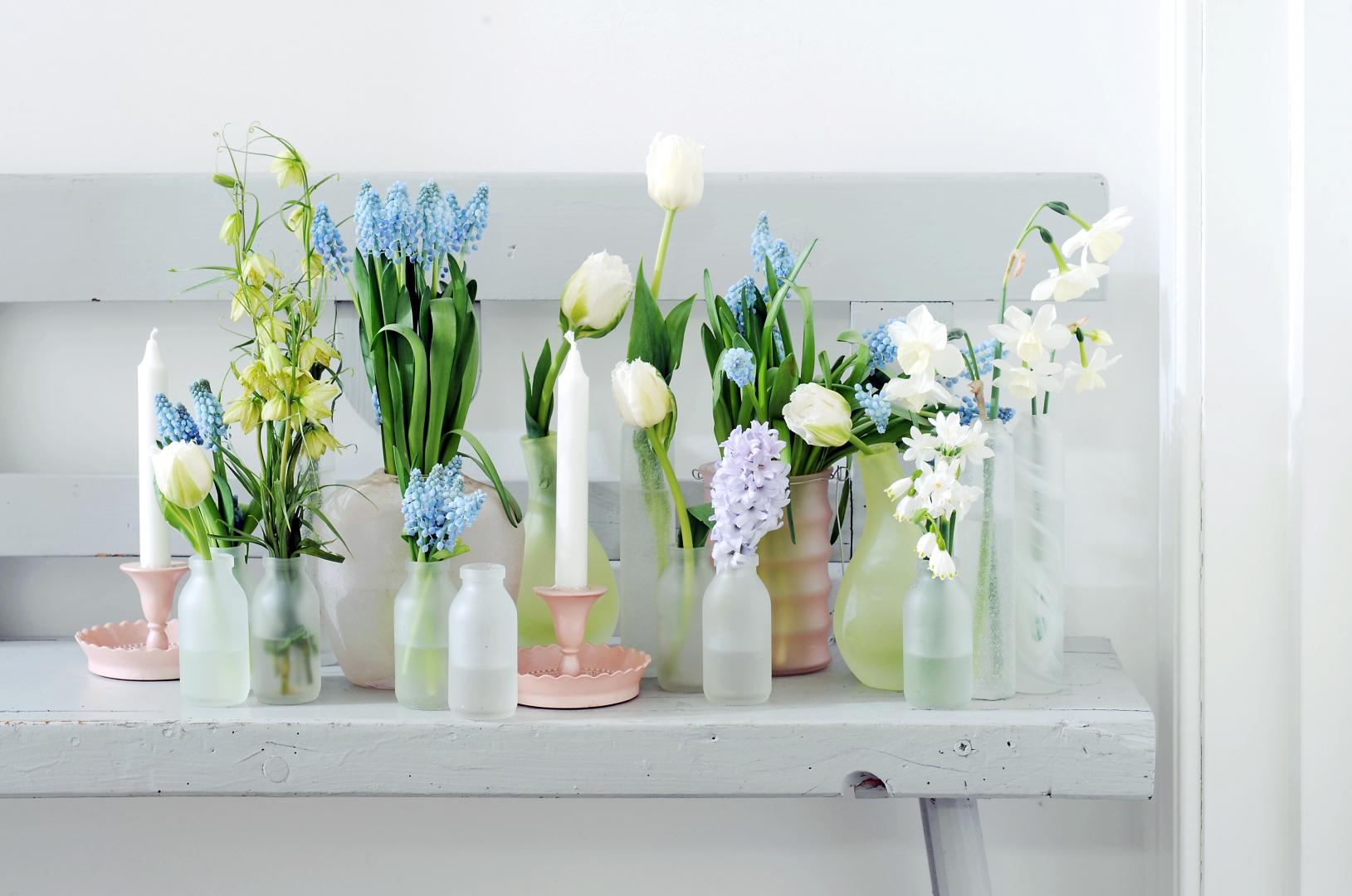 Groen wonen haal de lente in huis met bloemen stijlvol styling woonblog - Mooie interieurdecoratie ...