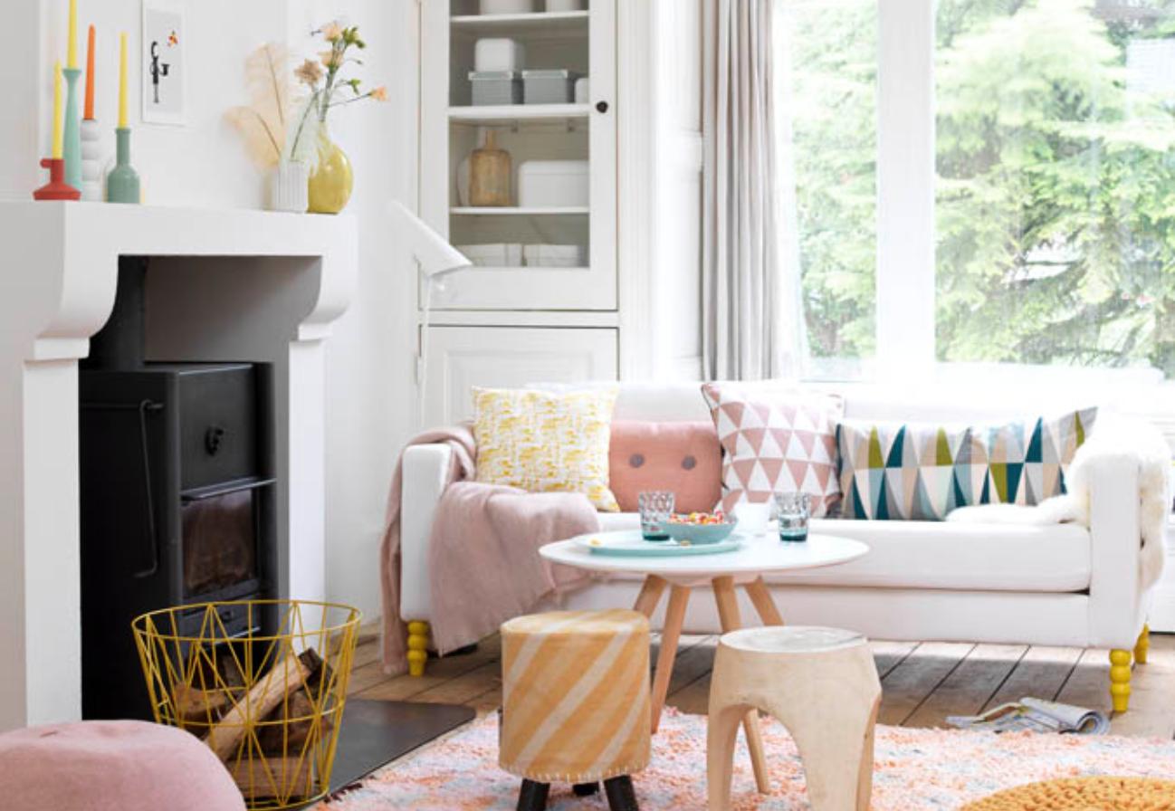 Kleur interieur een licht en wit interieur stijlvol for Kleur interieur